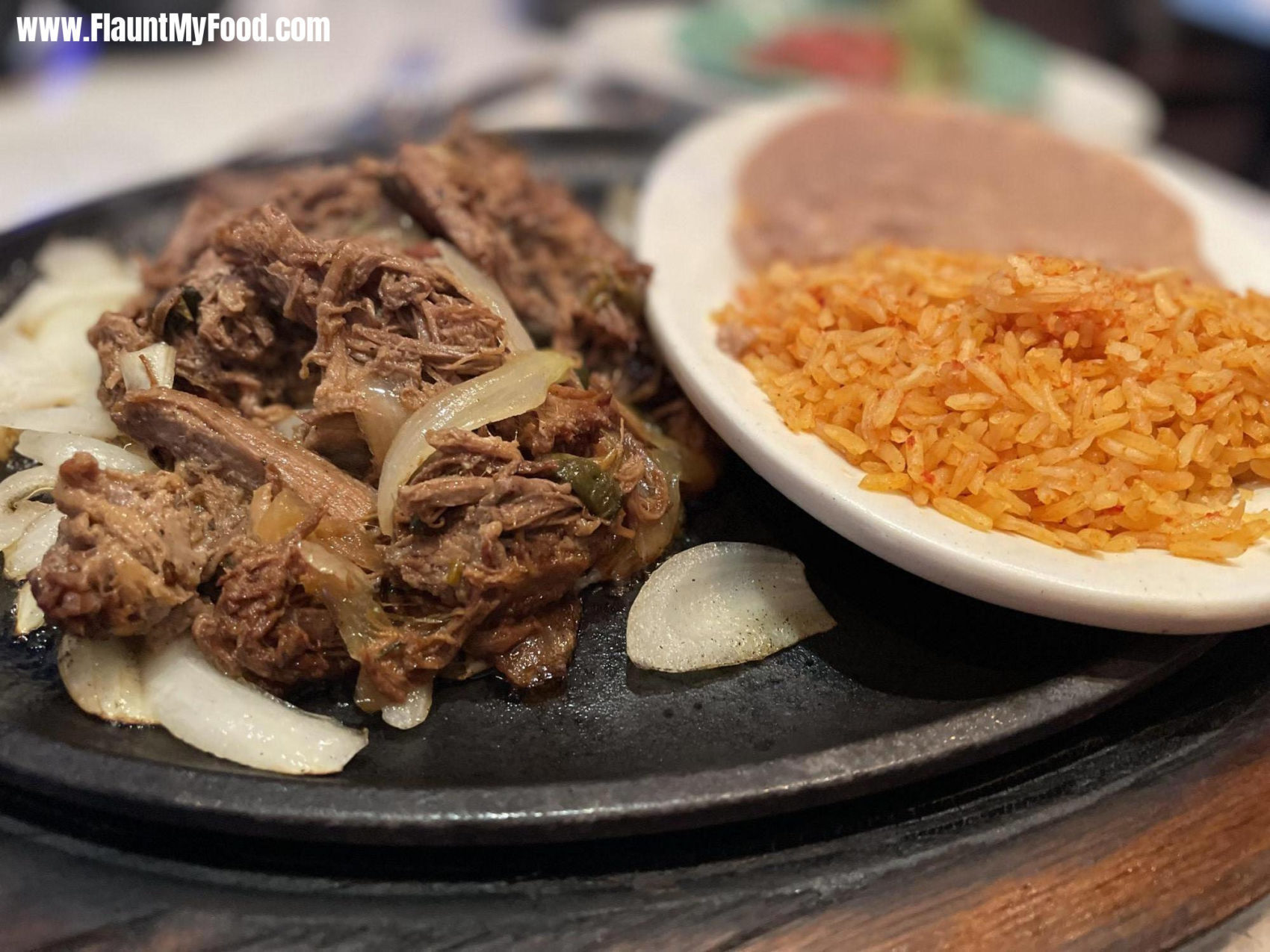 Brisket Fajitas at Rio mambo Southwest Fort Worth TexasBrisket Fajitas at Rio mambo Southwest Fort Worth Texas. Rio mambo is located in a plaza right off of Bryant Irvin Road in Southwest Fort Worth Texas.